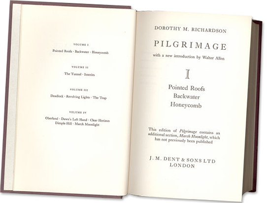 Pilgrimage, opening pages